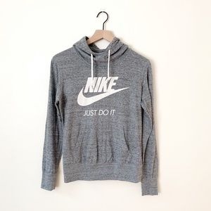 Nike | Gray Pullover T-shirt Hoodie